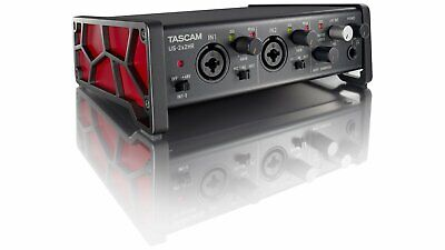 TASCAM 2-In/2-Out Hi-Res USB Audio Interface With 2 Mic Preamps - US-2X2HR • 128.76£