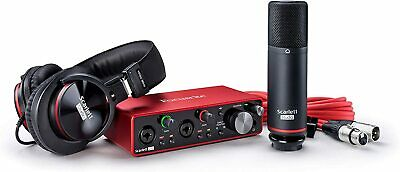 Focusrite Scarlett 2i2 Studio 3rd Gen USB Audio Interface  • 245.86£