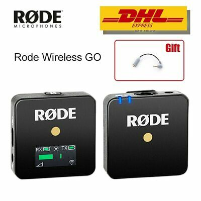 Rode Wireless GO Professional MIC Microphone For DSLR Youtube Live Stream Studio • 259£
