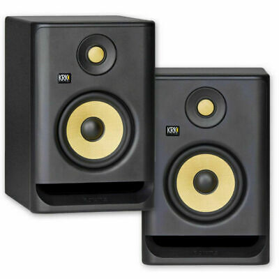 KRK Rokit 5 Powered Studio Monitor - Black, Pack Of 2 • 93.26£