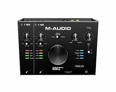 M-Audio 2-In/4-Out 24-bit/192kHz Audio MIDI Interface - AIR192X8 • 163.82£