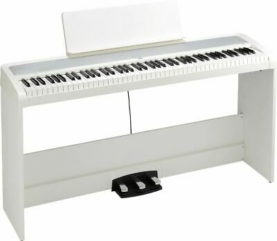 Korg B2SP 88 Natural Weighted Hammer Key Digital Piano White W/ Stand • 436.31£
