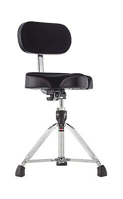 Gibraltar 9608MB Bike Seat Style Large Cordura Drum Throne With Backrest • 155.03£