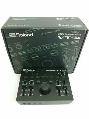 ROLAND VT-4 VOICE TRANSFORMER / Effector & Audio Interface #152B GOOD • 332.56£