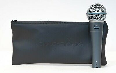 Shure Beta 58A Supercardioid Dynamic Vocal Microphone With Carrying Case • 108.53£