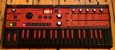 Korg Microkorg Synthesizer Black Red BKRD Limited Edition 10th Anniversary • 262£