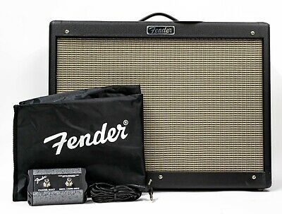 Fender Hot Rod Deluxe IV 1x12  40-watt Tube Combo Amp With Cover & Footswitch • 531.24£