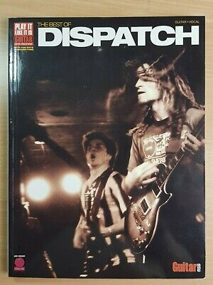 THE BEST OF DISPATCH - Play it like it is with TABS - Guitar Vocal HAL LEONARD