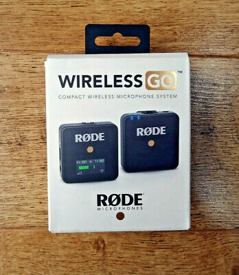 RØDE Wireless GO - Compact Wireless Microphone System • 135£