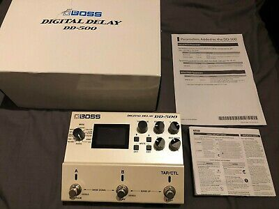 Boss DD-500 Digital Delay Pedal • 240£