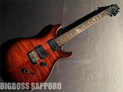 Paul Reed Smith: SE Custom 24 (Fire Red Burst) Electric Guitar • 782.92£