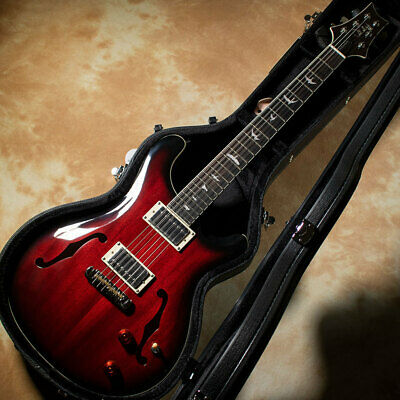 Paul Reed Smith: SE Hollowbody Standard Fire Red Burst Electric Guitar#4 • 1,091.17£