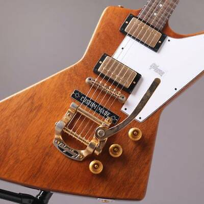 Gibson CS: HC 1958 Explorer VOS W/B 5 Bigsby Antique Natural 2019 • 4,858.49£