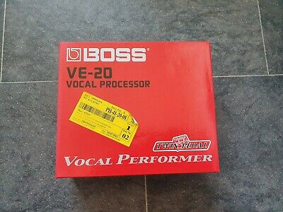 Roland, Boss Ve-20 Vocal Performer, Vocal Processor • 32£