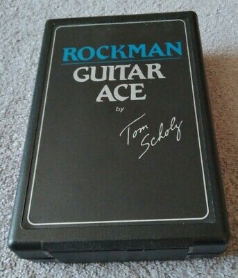 Rockman Bass Ace Bass Guitar Headphone Amp 100 Percent Fully Tested Works Great • 32.55£