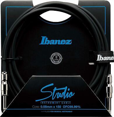 Ibanez HF10 10 Ft 2 Straight Plugs Studio Instrument Cable SI10 • 35.01£