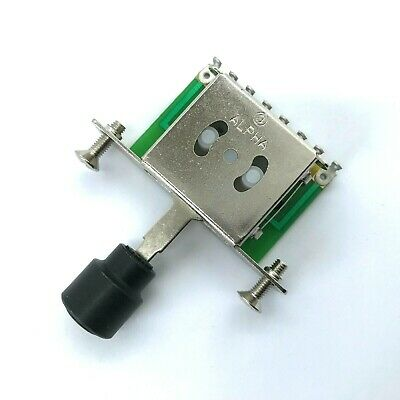 ALPHA 3 Way Import Switch For Fender Telecaster / Squier Tele With Metal Tip • 5.99£