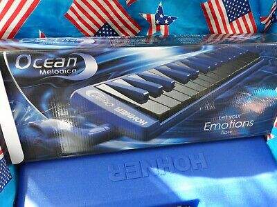 Hohner Ocean Melodica Boxed Superb Tone 32 Keys With Pipe  !!  • 27.99£