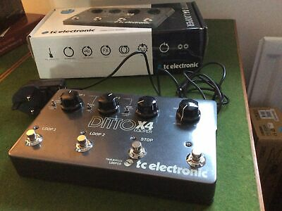 TC Ditto X4 Looper • 50£