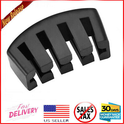 1Pcs Black Practice Rubber Mute Fit Cello Ultra Practice Silencer Claw • 8.52£