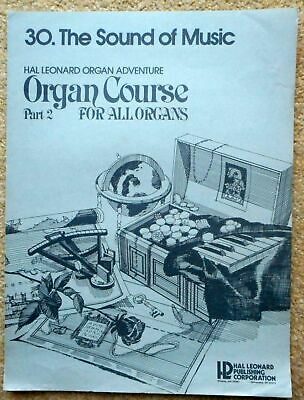The Sound of Music - Hal Leonard Organ Adventure Pt.2 No.30 All Organs 3 Pages