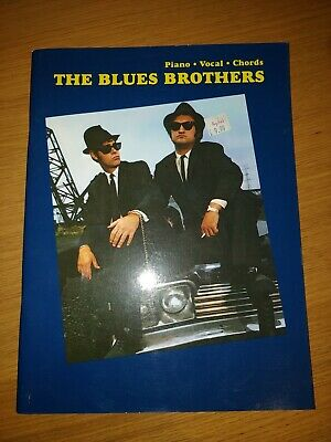 The Blues Brothers Piano Vocal Chords Songbook (1997) IMP • 7.25£