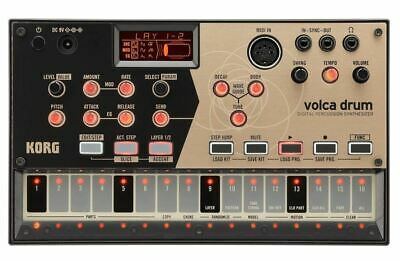Korg Volca Drum, Boxed, New, Warranty • 299.99£