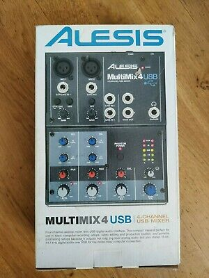 Alesis Multimix 4 USB Completely New Never Used - Opened • 85£