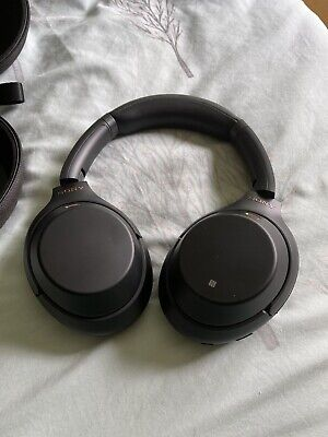Sony WH-1000XM3 Wireless Over-the-Ear Headphones - Silver • 53£