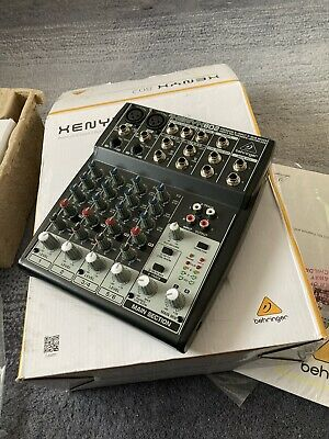 Behringer Premium 8 Input 2 Bus Mixer With XENYX Mic Preamps/Compressors/British • 45£