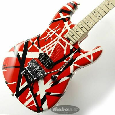 EVH Striped Series Red With Black Stripes • 1,379.93£