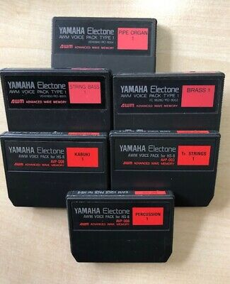Yamaha Electone AWM Voice Pack For HS8 Organ X 1 (Discount For Multiples) • 14.99£