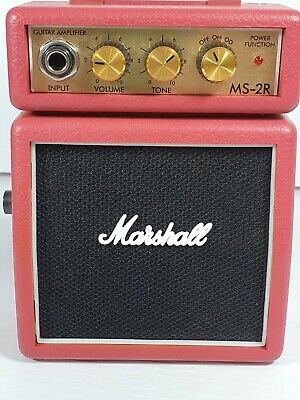Marshall MS-2 Micro Amplifier - Red