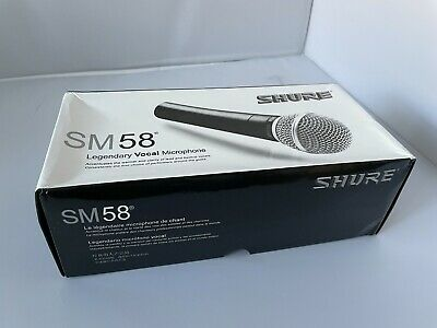 Shure SM58 SM58SK Unidirectional Dynamic Vocal Microphone With On/Off Switch • 75£