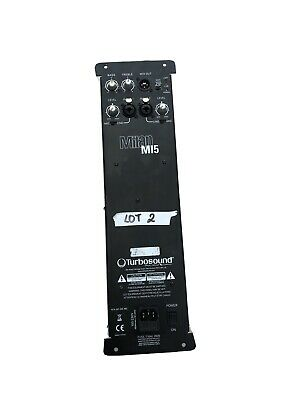 Turbosound Milan M15 Active Powered Amp Amplifier Module & DSP Linear Research • 100£