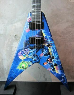 New Dean USA Custom Shop Dave Mustaine VMNT RUST IN PEACE GRAPHIC NAMM SHOW • 3,749.36£