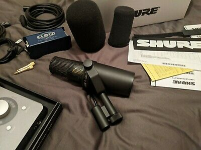 Shure Wired Vocal Microphone - Black (SM7B) • 320£
