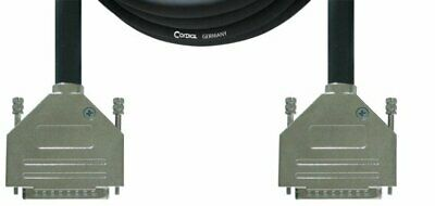 Cordial 10' Two Analog TASCAM D-Sub 25-Pin Male Cable - CFD3DDA
