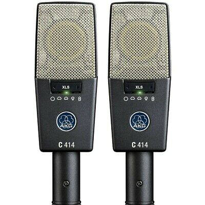 AKG C414 XLS Stereo Matched Pair