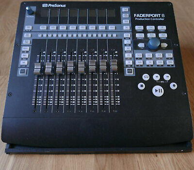 PreSonus Faderport 8 8-Channel Production Controller & stand