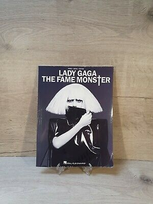 Lady Gaga The Fame Monster | Piano Vocal Guitar | Hal Leonard | Music Book