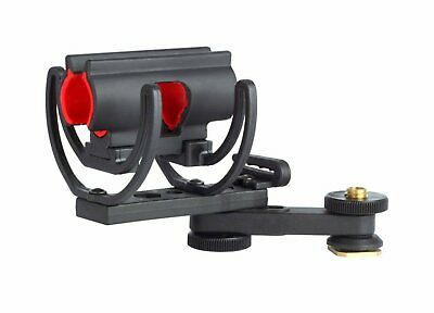 2X (pair) Rycote InVision Video Hot Shoe Shockmount Shure A89M-SH