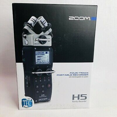 Zoom H5 4-Track Portable Digital Handy Handheld Recorder New In Box With Case