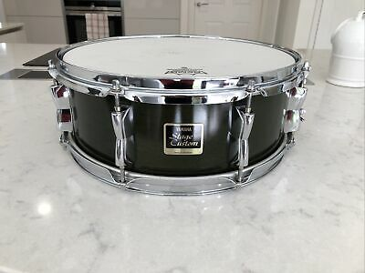 """Yamaha Stage Custom Birch Shell 14"""" X 5"""" Snare drum """"Racing Green"""" Colour Shell"""