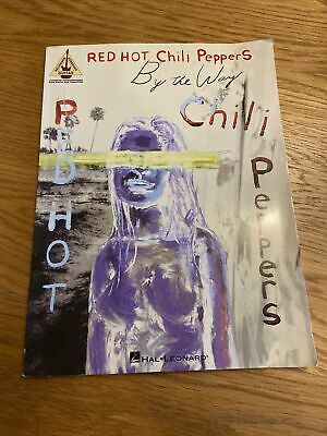 Red Hot Chili Peppers By The Way Guitar Tab 16 Track Songbook