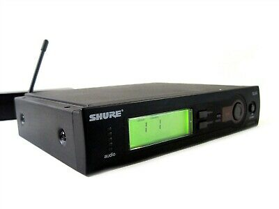 Shure SLX4 L4 638-662 MHz Automatic Audio Microphone Wireless Receiver Station