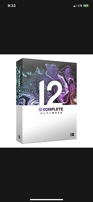 Native Instruments Komplete 12 Ultimate Update for users of ULTIMATE 8-12