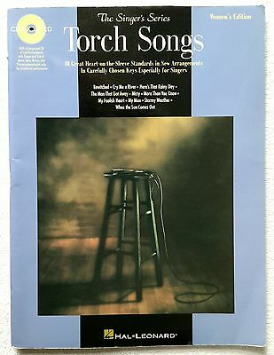 Torch Songs Women's Edition The Singer's Series by Hal Leonard WITHOUT CD/NO CD