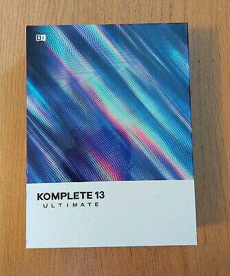 Native Instruments Komplete 13 Ultimate Update From Ultimate 8-12, Boxed, New