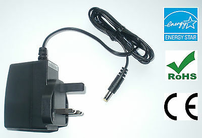 BEHRINGER PSU-SB NOISE FREE REPLACEMENT POWER SUPPLY ADAPTER 9V 1000mA • 8.99£